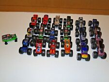 Lot of 19 Hot Wheels Monster Jam Trucks 1:64 Scale Used Nitro Digger Spiderman
