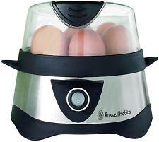 Russell Hobbs Cook@Home Eierkocher für bis zu 7 Eier, 3 Pochiereinsätze Neu