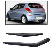 "12"" Rear Window Windscreen Wiper Arm Blade Set Kit Fit For Hyundai i20 2008-2014"