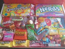 American Sweets Gift Box USA Candy Hamper Wonka Nerds DISNEY CHRISTMAS LARGE
