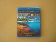 IMAX Blue ray MacGillivray:Coral Reef Adventure(New sealed)