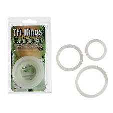 Tri Rings Glow In The Dark - Male Enhancement Rings