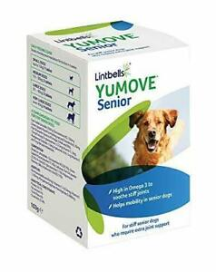 Lintbells YuMOVE SENIOR Dog Joint Supplement for Stiff and Older Dogs 60 Tablets