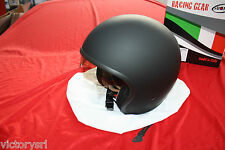 Casco Suomy Jet DE 70 Llano Black Matt con Visera integrado Tamaño S KS7000XS
