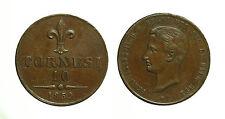 pci3274) Napoli Regno delle Due Sicilie Francesco II - 10  tornesi 1859