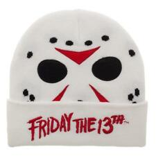 2ea54d14c80 Bioworld Jason Voorhees Friday The 13th Horror Movie Knit Beanie HaT  Kc6yizftt