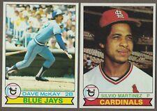 BUY 1, GET 1 FREE - 1979 TOPPS BASEBALL - YOU PICK #601 - #726 - SHARP NMMT