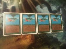 MTG Magic the Gathering 4x Birds of Paradise PL fwb revised Italian