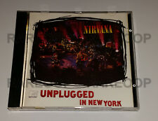 MTV Unplugged in New York by Nirvana (CD, 1994, BMG) MADE IN ARGENTINA