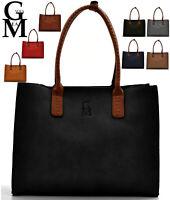 GM MILANO borsa signorile donna zip shopping grande spalla tracolla shopper