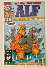 ALF #48! Marvel Comics 1991! Controversial Seal Cover RARE! SEE PICS AND SCANS!