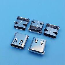5Pcs High Speed USB 3.1 Type C Female 24Pin PCB Mount Solder Socket Connector