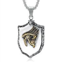 The Eye Of Horus Necklace Amulet Ancient Egyptian Religion Rune Retro Pendant