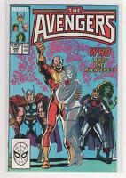 AVENGERS #294 John Buscema Captain Marvel Black Knight She-Hulk Thor 9.2