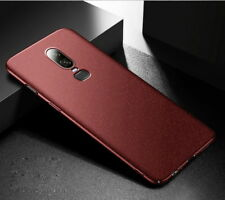 For OnePlus 6/5T/5 Shockproof UItra Thin Sandstone Matte Slim Hard PC Cover Case