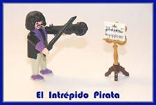 PLAYMOBIL - Nuevo Musico Violinista Violin Orquesta Set 6527 Victoriano Ciudad