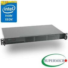 Supermicro Xeon D-1518 4-Core Mini 1U Rackmount w/Dual Intel 10GbE, RS-SMX104C4N