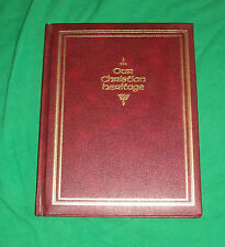 1980 OUR CHRISTIAN HERITAGE GOSPEL PICTURE BOOK GOOD WILL BIBLE STORY SAPULPA OK
