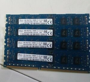 SK Hynix 4GB DDR3 ECC RAM Stick