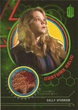 """Doctor Who Extra Terrestrial: """"Sally Sparrow's Coat"""" Costume Relic Card #077/499"""
