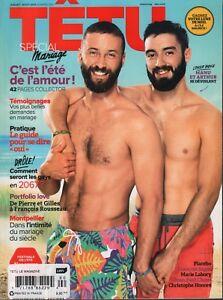 Tetu French Gay Interest Mag July August 2013 Placebo Jean-Paul Cluzel 070918DBF