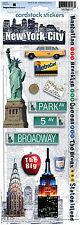 Paper House NEW YORK CITY Cardstock Stickers scrapbooking MANHATTAN BRONX QUEENS