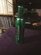 Bud Light St. Patrick's Day Green ALUMINUM BEER BOTTLE USA CAN 16 Fl Oz