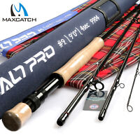 Maxcatch Saltwater Fly Fishing Rod 9ft 7/8/9/10/12wt Graphite IM10 Fast Action