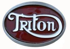 Triton Belt Buckle Red & White  DDMR 2010