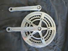 NERVAR 170 CRANKSET ARM 42 52 CHAIN RINGS WHEELS ROAD VINTAGE BICYCLE