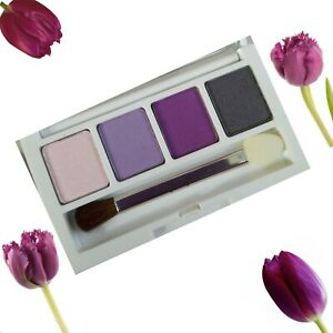 Clinique All About Eye Shadow Quad Graphite Purple Pumps Lavender Out 2.0G New