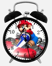 "Super Mario Cart Alarm Desk Clock 3.75"" Home or Office Decor Z52 Nice For Gift"