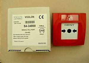 £30 Gent Vigilon S4-34800 Addressable Call Point