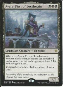 BLACK ZOMBIES Legendary Army- Custom Magic MTG Commander EDH Deck -100 Cards