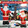 8ft/2.4M Inflatable Santa Claus Outdoors Christmas Lighted Airblown Outdoor XXL