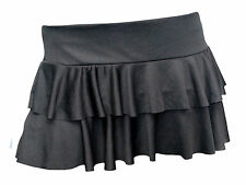 Ladies Girls Neon RARA Mini Short Skirt Dance Club  Women Sizes S - L/XL 6 -16