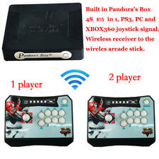 Pandora Box 4S Wireless+ 815 Game Arcade Sticks Controller  Support  PS3 XBOX360
