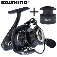 UPGRADED! KastKing Mela II Spinning Reel Carbon Fiber Drag Spinning Fishing Reel