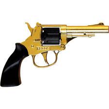 Pistolet cow boy enfants adultes en metal et plastique de 8 coups deguisement
