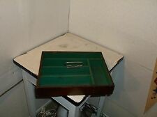 OLD CASINO CHIPS CASH BOX FOR DEALERS