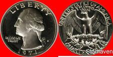 1971 S Washington Quarter Gem Proof No Reserve
