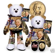 JOHN ADAMS GOLDEN COIN PRESIDENT BEAR #2
