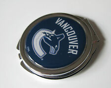 VANCOUVER CANUCKS LADIES COMPACT MIRROR w/FLORAL DESIGN