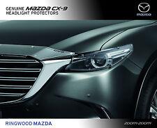New Genuine Mazda CX-9 TC Headlight Protectors Head Lamp Covers Part TC11ACHLP