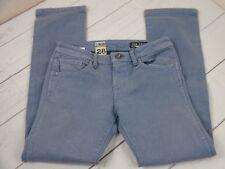 Volcom Jeans Girls Size 28 / 16 Cotton Blend 5-Pocket Light Blue Jeans  A2007