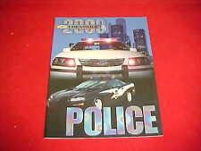 2000 ORIGINAL CHEVROLET IMPALA CAMARO POLICE CAR BROCHURE SALES PROSPEKT 00