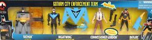 GOTHAM CITY ENFORCEMENT TEAM New Batman Adventures 4 Pack Nightwing Batgirl