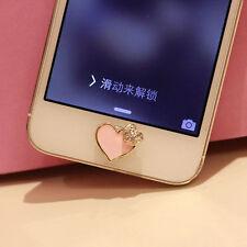 Home Button Sticker For iPhone SE 6SPlus 6S 6 6plus 5 5S 5C i Pad 5 4 3 Love