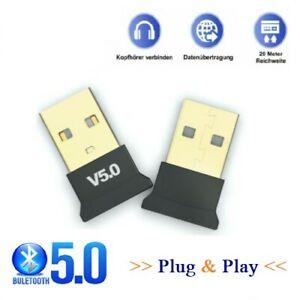 Bluetooth Adapter 5.0 Stick BT Dongle PC Notebook USB Bluetooth Adapter Wireless