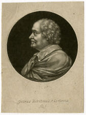 Antique Master Print-PORTRAIT-PAINTER-PIETRO BERETINO-Blooteling-Berretini-ca. 1